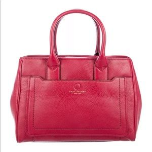 Marc Jacobs Empire City Red Leather Bag